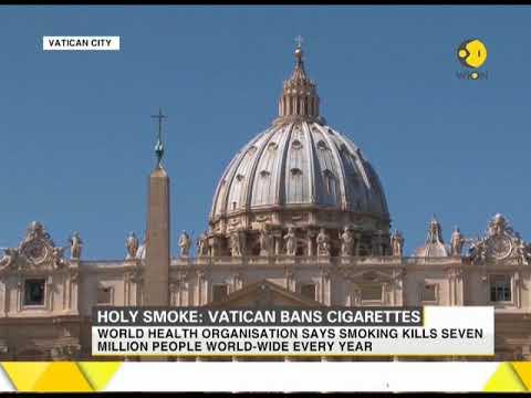 Holy Smoke: Vatican bans cigarettes