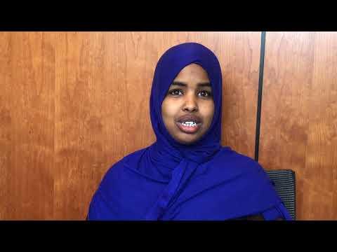Minnesota Somali American female 18 Wheeler Driver is encouraging women in the community