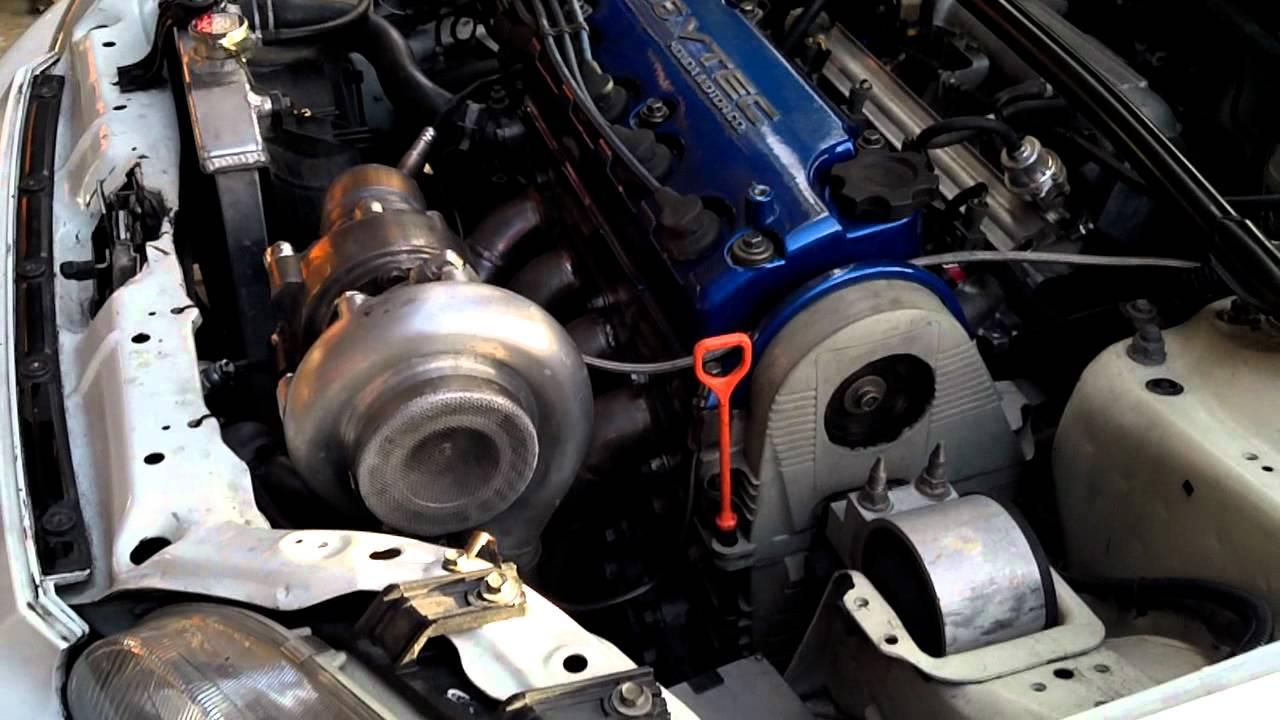 D16 turbo eg hatchback civic walk around