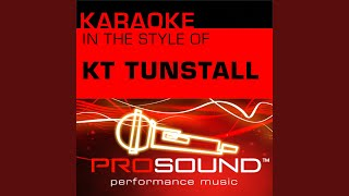 Black Horse and The Cherry Tree (Karaoke Instrumental Track) (In the style of KT Tunstall)