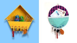 3 EASY & USEFUL KEY HOLDER IDEAS
