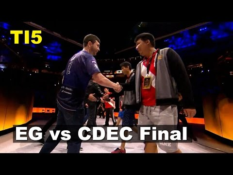 TI5 Grand Final EG vs CDEC Games (1,2) Dota 2