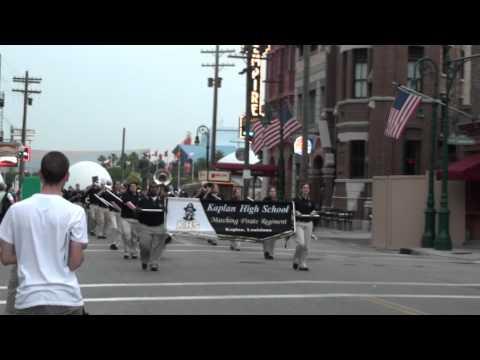 Kaplan High School Pirate Regiment-Marching in Universal