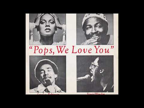Diana, Marvin, Smokey & Stevie ~ Pops, We Love You 1978 Disco Purrfection Version