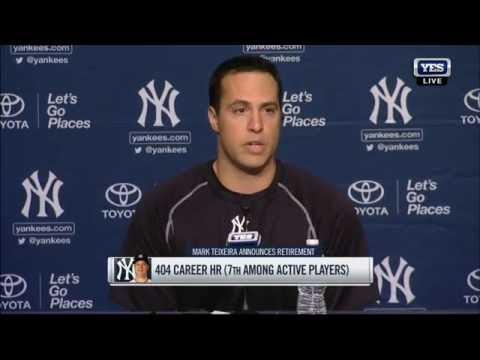 Mark Teixeira retires