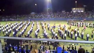 Walker Valley High School Marching Band 2010