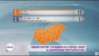Orbán Viktor: Továbbra is a Fidesz - KDNP a legerősebb pártszövetség