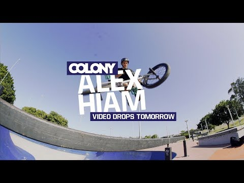 Get excited! Alex Hiam video part drops tomorrow! Here's a little taste for you guys... Thanks for watching, make sure you subscribe: http://www.youtube.com/user/ColonyBMXBrand?sub_confirmation=1...