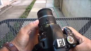 How To Use A Nikon D3300 Camera-BASIC Tutorial