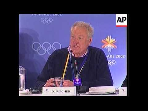press conference by International  Olympic Committee, dope testing labs