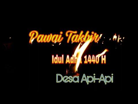 PAWAI TKBIR IDUL ADHA 1440 H DESA API-API