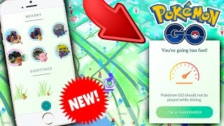Pokemon GO | MASSIVE UPDATE - NEW TRACKING SYSTEM - EGG SPEED - NICKNAME - EASY XP + GIVEAWAY!
