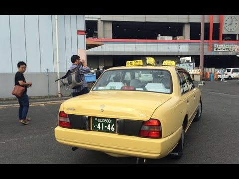 นั่งแท็กซี่ญี่ปุ่น