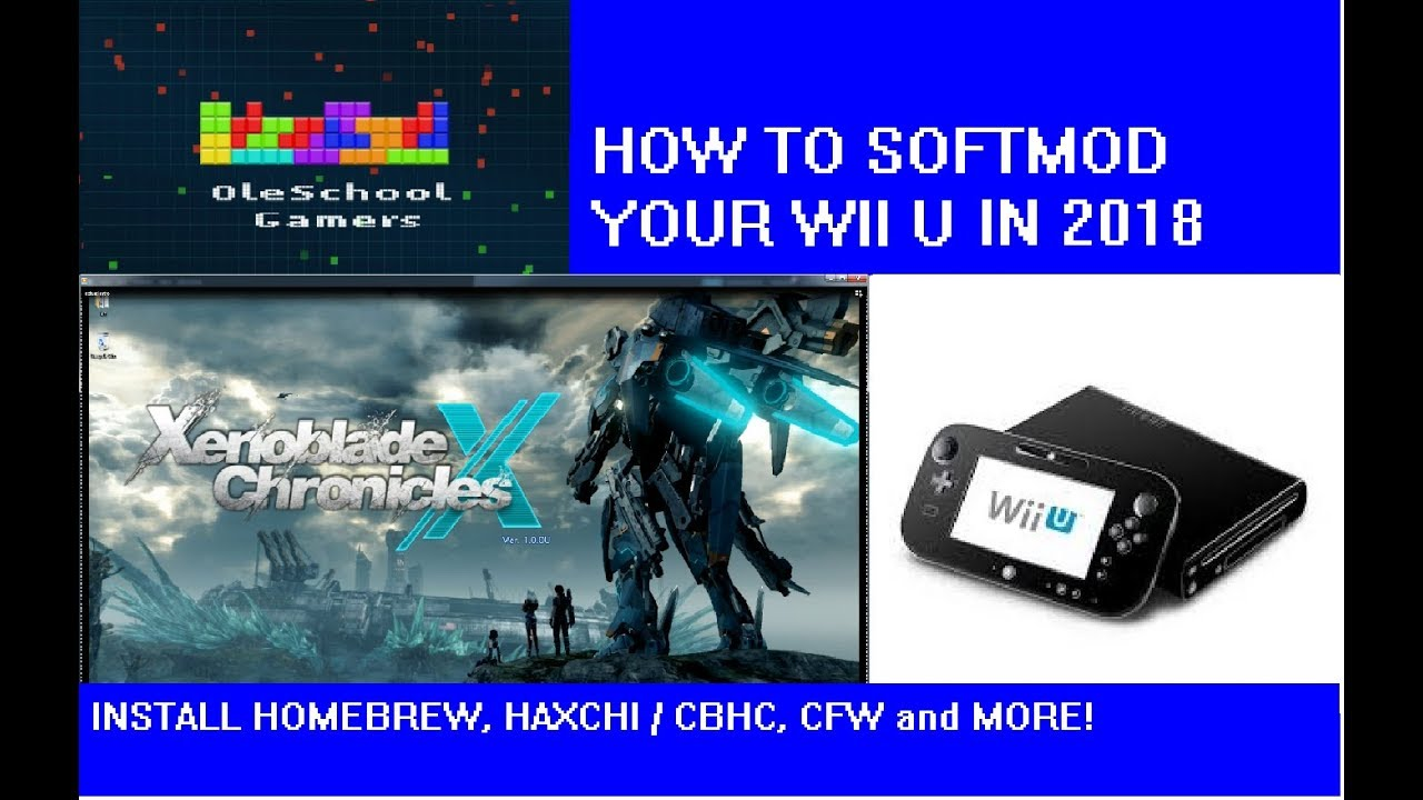How to Softmod your WiiU in 2018 installing Homebrew, Haxchi (Part 1)