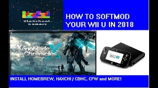How to Softmod your WiiU in 2018 installing Homebrew, Haxchi and more!