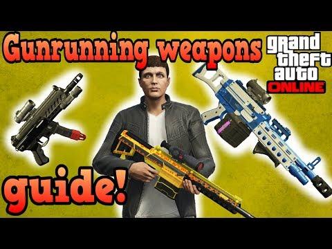 Gunrunning weapons guide! - GTA Online
