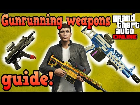 Save Gunrunning weapons guide! - GTA Online Pictures