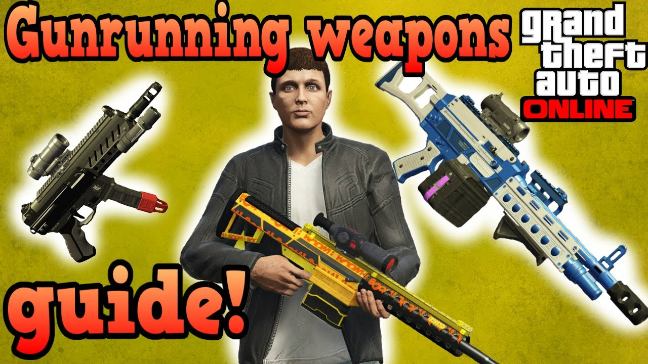 Gun Running MKII weapon hashes? - Coding - GTAForums