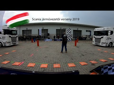 2019 Scania járművezetői verseny  Magyarország