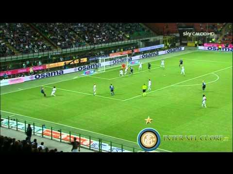Sintesi Highlights Inter vs Bari (4-0) 4^ Giornata Serie A (22-09-10)