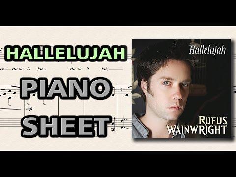 Hallelujah - Leonard Cohen (Rufus Wainwright) | Piano Sheet Music