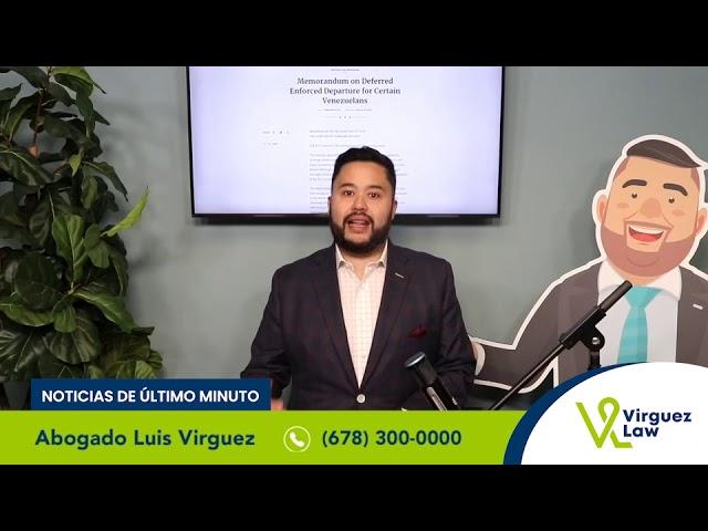 Noticias de Último Momento: 20 de Enero 2021 / Programa para los venezolanos en los EE.UU.