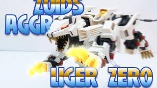 ZOIDS AGGRESSIVE LIGER ZERO ZA006 REVIEW