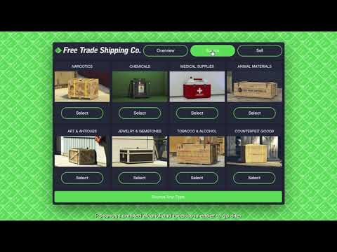 GTA Online - Free Trade Shipping Co. Introduction
