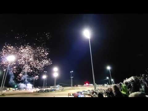 Fireworks at Merritt Speedway