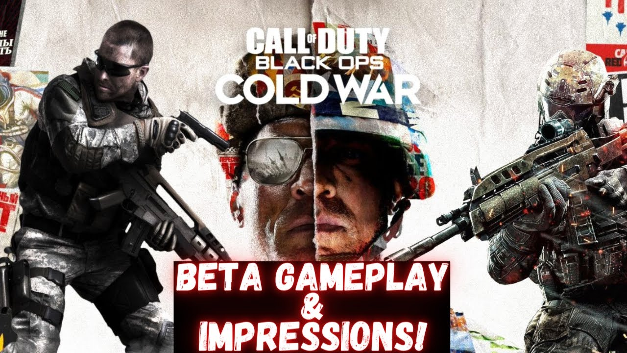 Call Of Duty Black Ops Cold War Beta Gameplay And Impressions Ps4 Pro Youtube