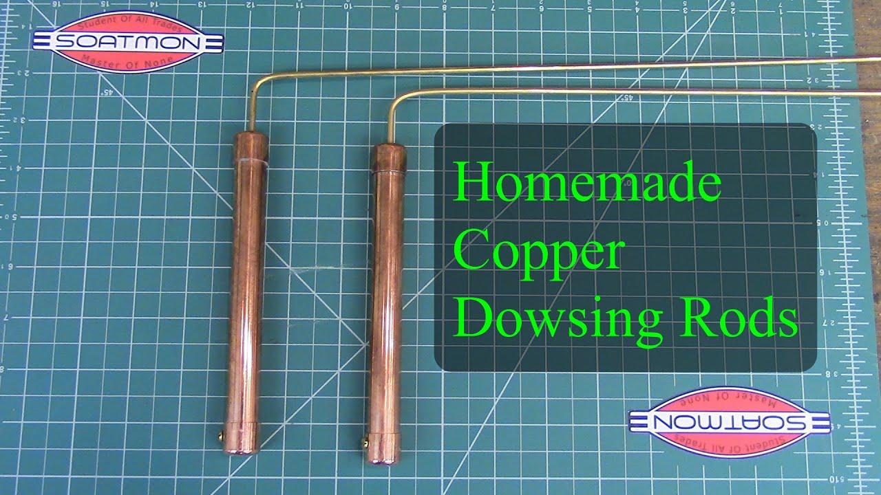 Homemade Copper Dowsing Rods