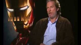 IRON MAN VILLAIN: Jeff Bridges, War Monger Behind The Scenes