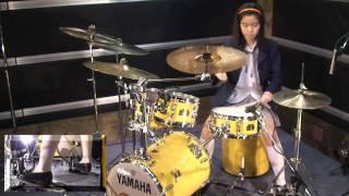 けいおん!! 天使にふれたよ! 叩いてみた K-ON!! Tenshi ni Fureta Yo! - drum cover