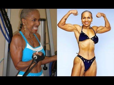 World's Oldest Female Bodybuilder: Age 80