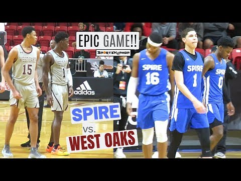EPIC GAME Between SPIRE & WEST OAKS!! Melo Ball SILENCED The CRITICS!
