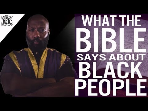The Israelites: What The Bible Says About Black People
