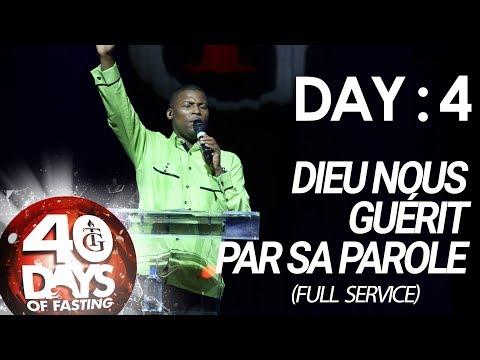 Pasteur Gregory Toussaint | 40-DAY FAST - DAY  4 I Dieu nous Guérit par sa Parole