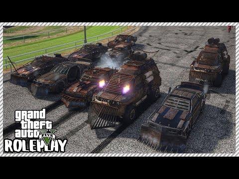 GTA 5 Roleplay - Death Demolition Derby Race | RedlineRP #203