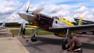 P-51 Mustang Precious Metal High-Power Engine Run Aug. 28, 2015