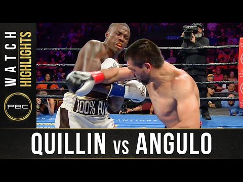 Quillin Vs Angulo HIGHLIGHTS: September 21, 2019 — PBC On FS1