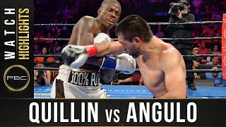 Quillin vs Angulo HIGHLIGHTS: September 21, 2019 - PBC on FS1