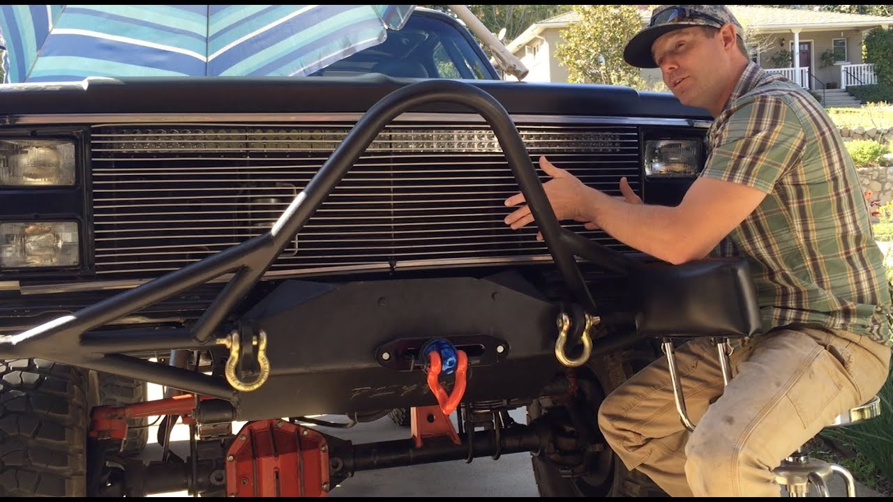 Merricks Garage K5 Blazer Bumper Build With A Bomb And