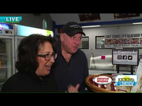 Kenny Visits Euclid Fish Company For Holiday Party Ideas
