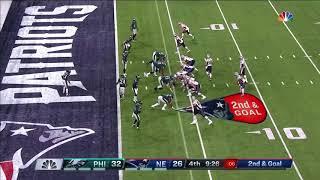 Rob Gronkowski Go-Ahead TD!   Eagles vs. Patriots   Super Bowl 52 Highlights
