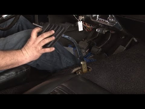 Mustang Ford Performance World Class T5 Transmission Conversion Kit 1967 Installation