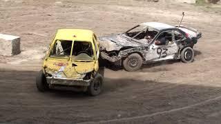 Woodstock Fair Demolition Derby 2017 | Figure 8 Race 1 & 2