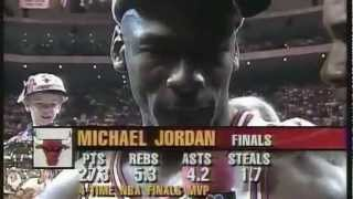 Chicago Bulls vs Seattle SuperSonics | 1996 NBA Finals - Game 6 | 4th Championship | HD