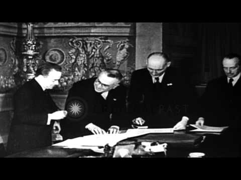 Austrian Premier Engelbert Dollfuss assassinated by the Nazis in Austria. HD Stock Footage