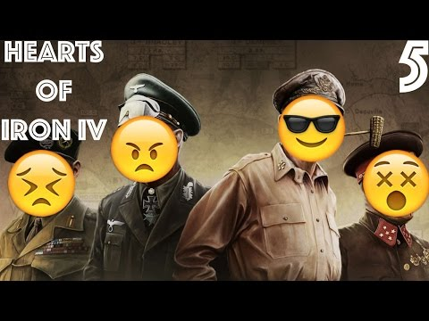 """Learn Spanish playing"" Hearts of Iron IV #5 - Slovenia is not joining us :("