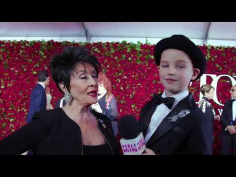 Iain interviews Miss Chita at the 2016 Tony Awards